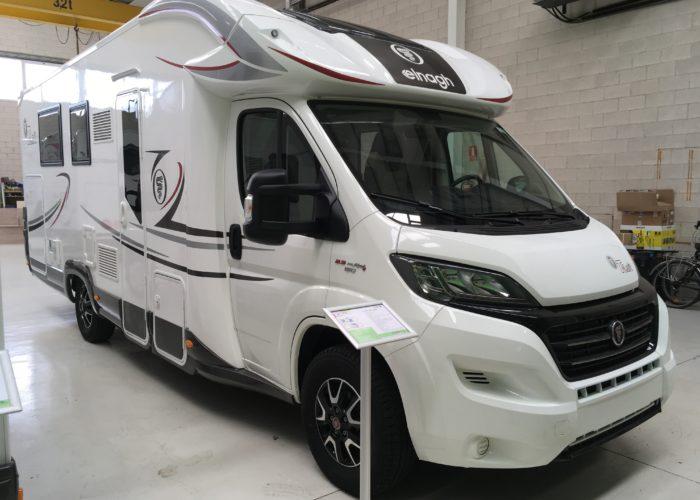promoción venta autocaravana elnagh T-loft 581