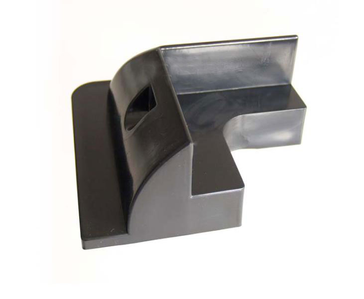Soporte panel solar esquinas Negro 4 uni-2