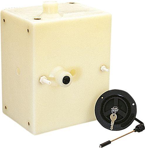Depósito de plástico de 15 litros Generador Dometi-2