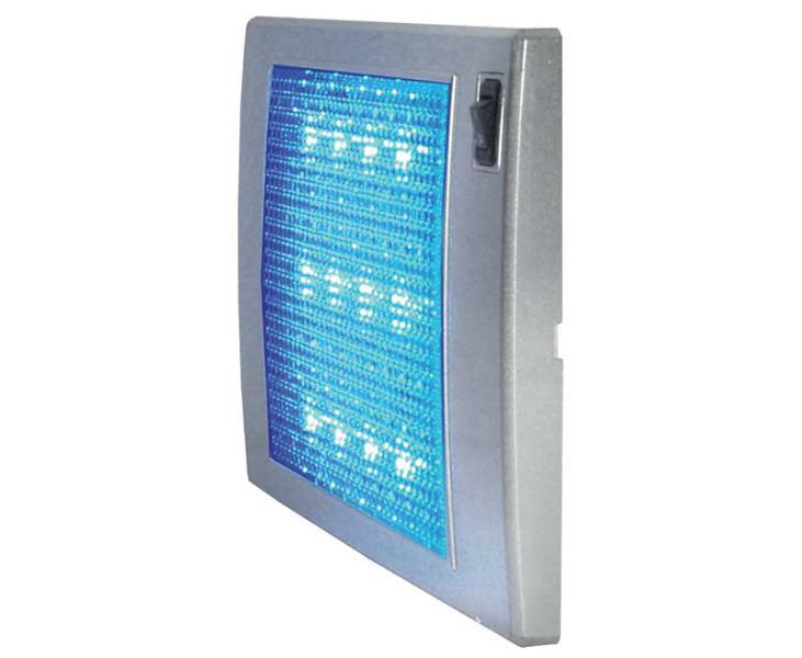 Aplique LED 12 V SlimLite plateado 185 x 110 x 12 -3