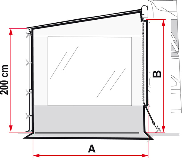 Cerramiento Lateral Toldo Side W Pro F35 Van-3