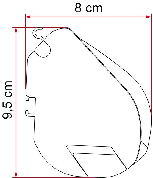 TOLDO FIAMMA F35 PRO 250-6