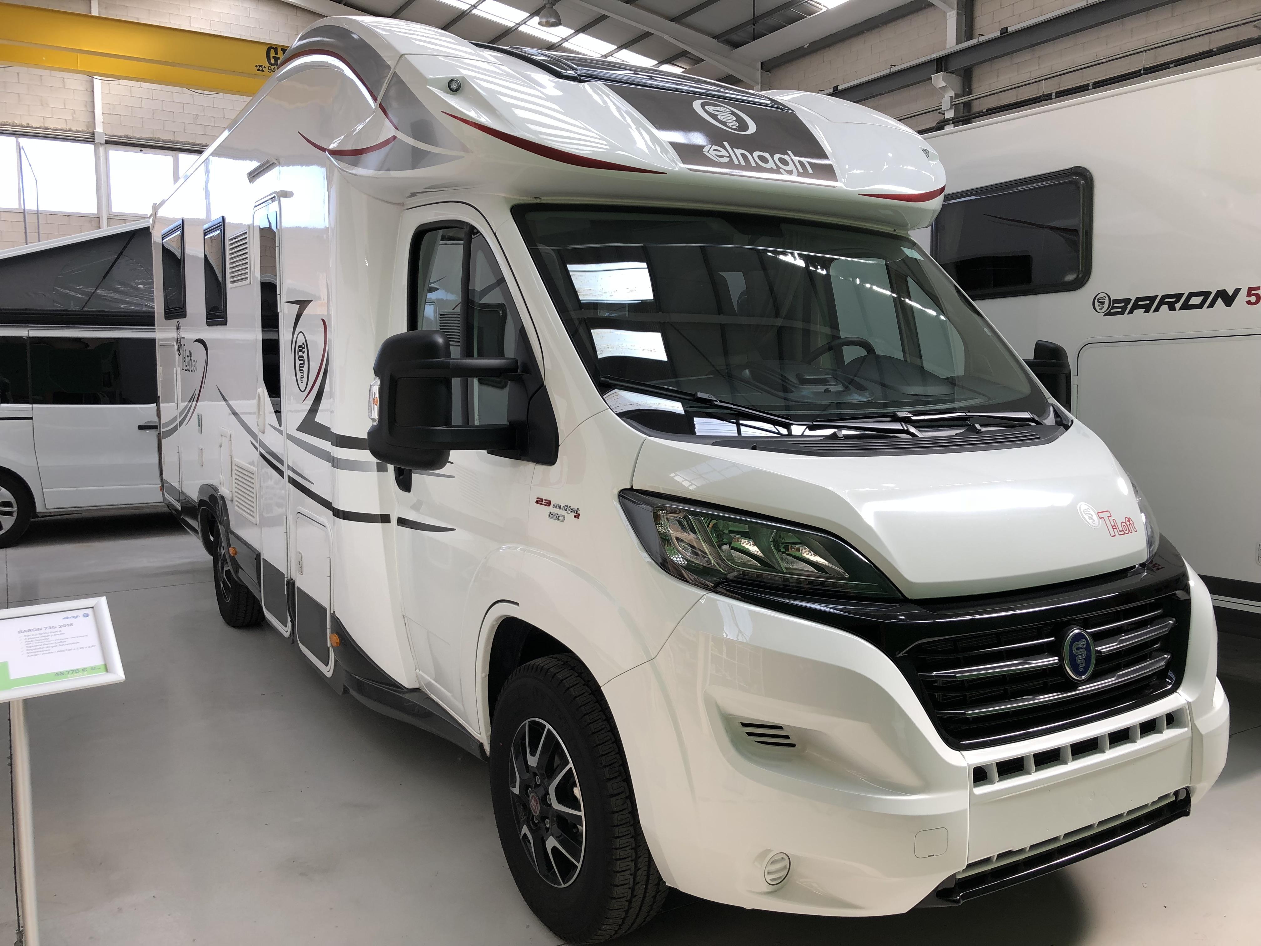 promoción venta autocaravana elnagh barón 530