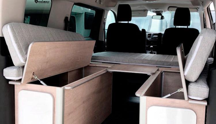 Arcones kit cama desmontable Citroen space tourer masquecamper