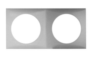 marco pata instalación electrica 2 huecos