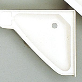 Lavabo en esquina pequeño ABS Blanco 64017