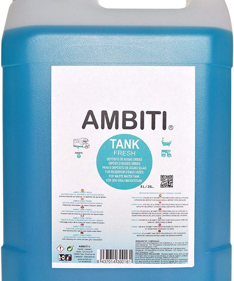 AMBITI TANK FRESH 5 L