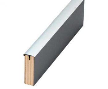 Canto en T 15 mm gris Medio Rollo 40 m