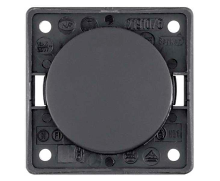 Interruptor 12 230V de tornillo granito mate