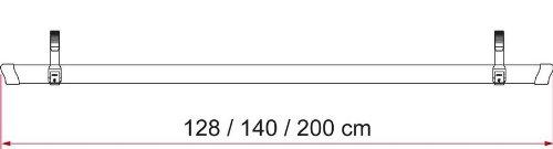 Rail quick 128 Azul 2 Quick Fiamma 98656 328
