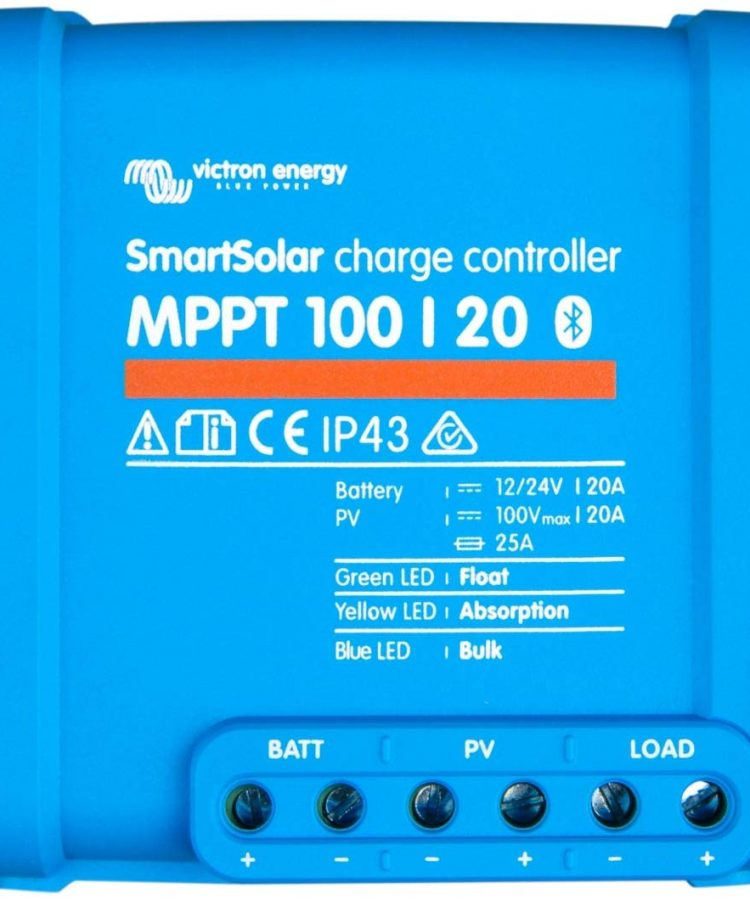Regulador Solar Victron SmartSolar MPPT 100 20 12 24V 20A