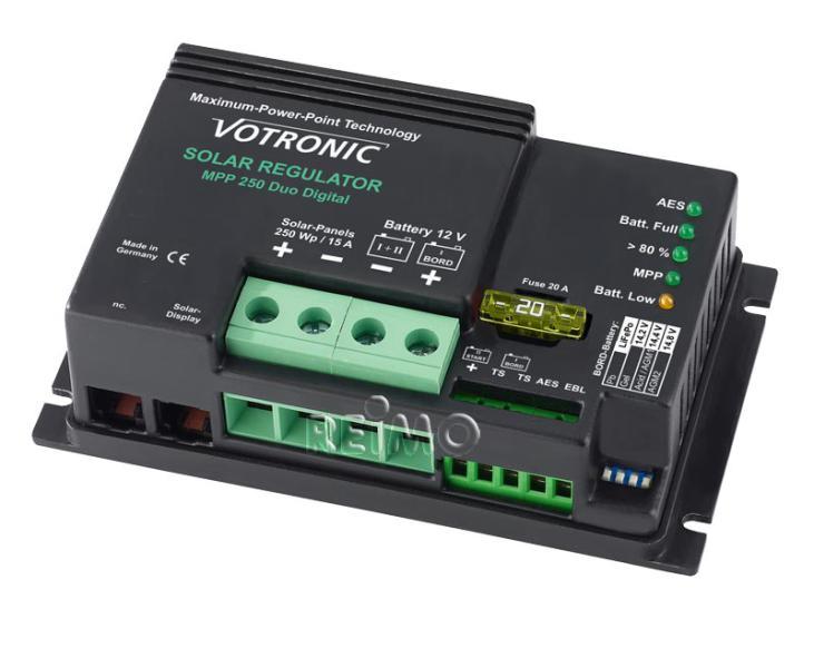 Regulador solar Votronic 250 MPPT Duo