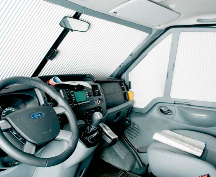 Remis Frontal Transit Custom sin sensor luz lluvia