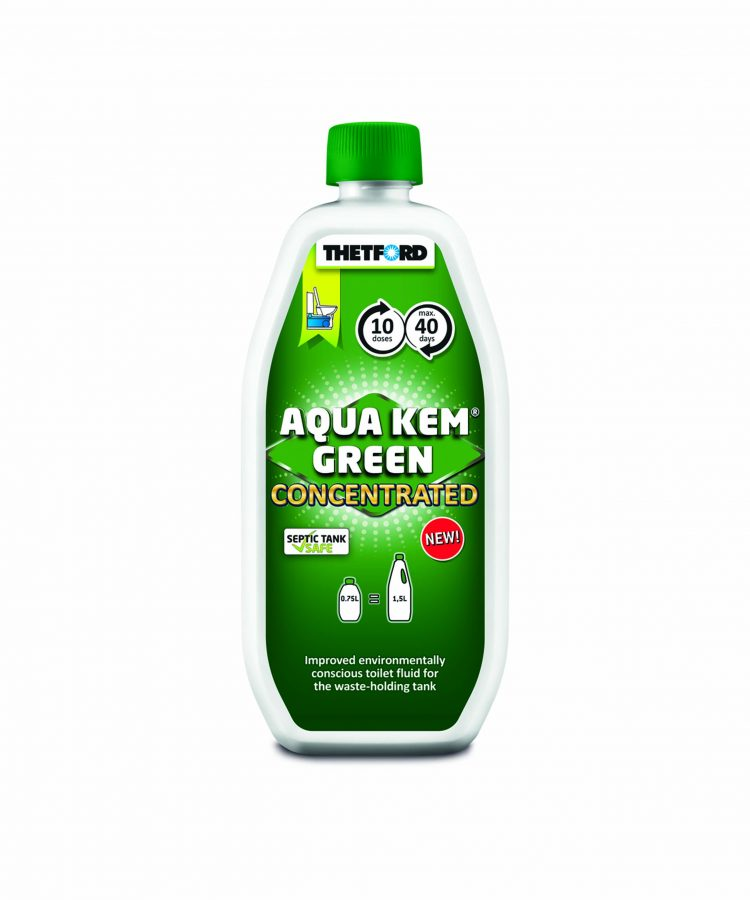 Thetford Aqua Kem Green Concentrated 750 ml