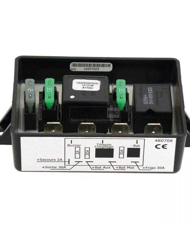 Acoplador-Separado- 2-baterías-3-salidas-Inovtech