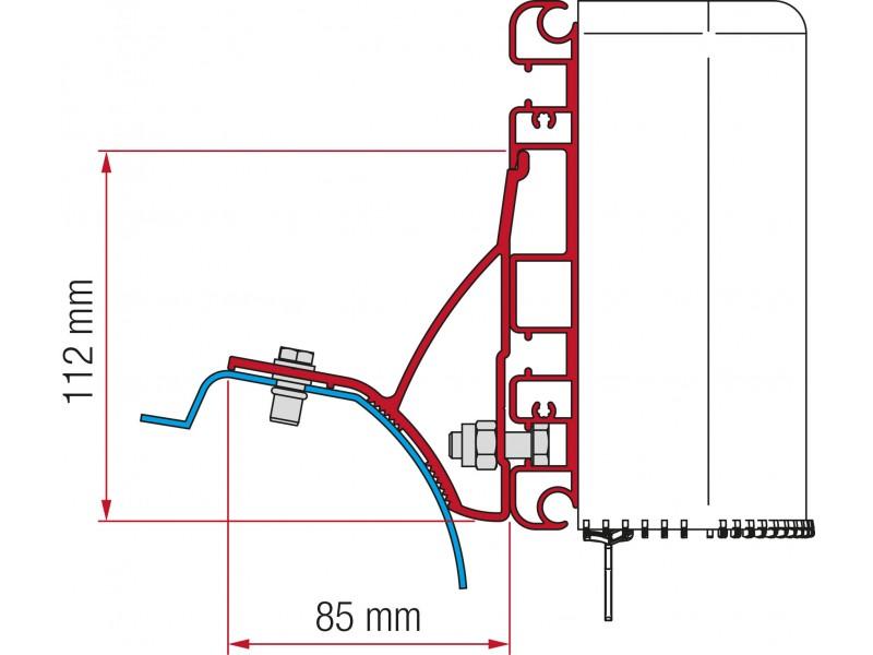 Kit Renault Trafic desde 2015 Compass fiamma 98655Z032