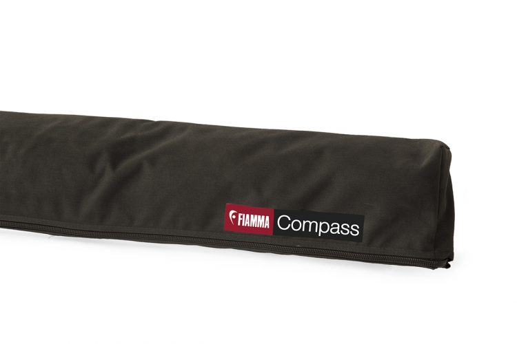 Toldo 4x4 Fiamma Compass 220 Black 07261A01J cerrado