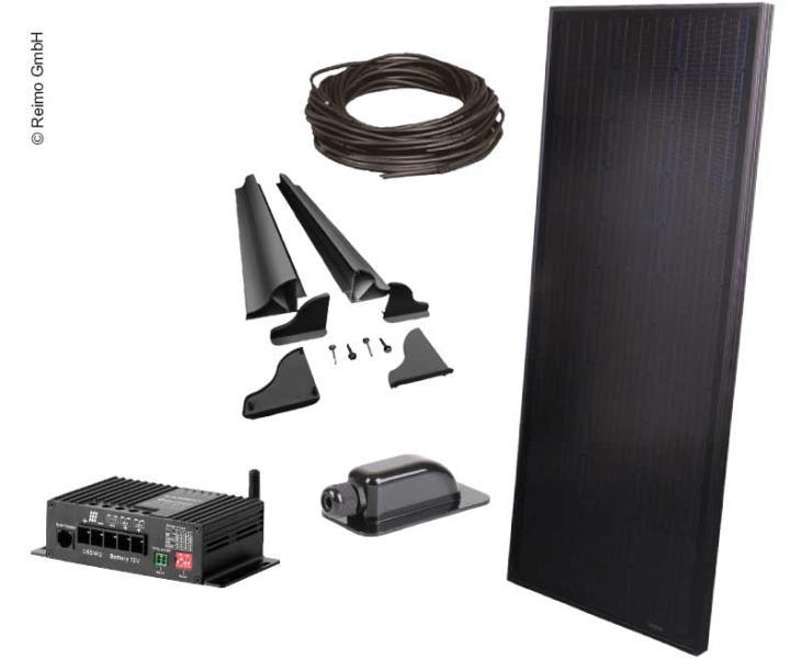 Kit-Solar-Autocaravana-furgoneta-camper-100W-All-Black-Regulador-MPPT-Carbest
