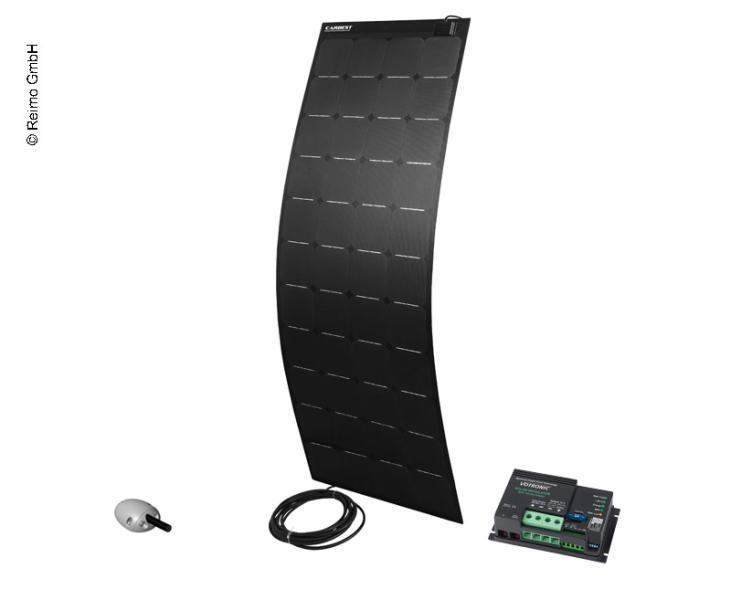Kit-solar-12V-160W-Flexible-Pro-negro-regulador-MPPT