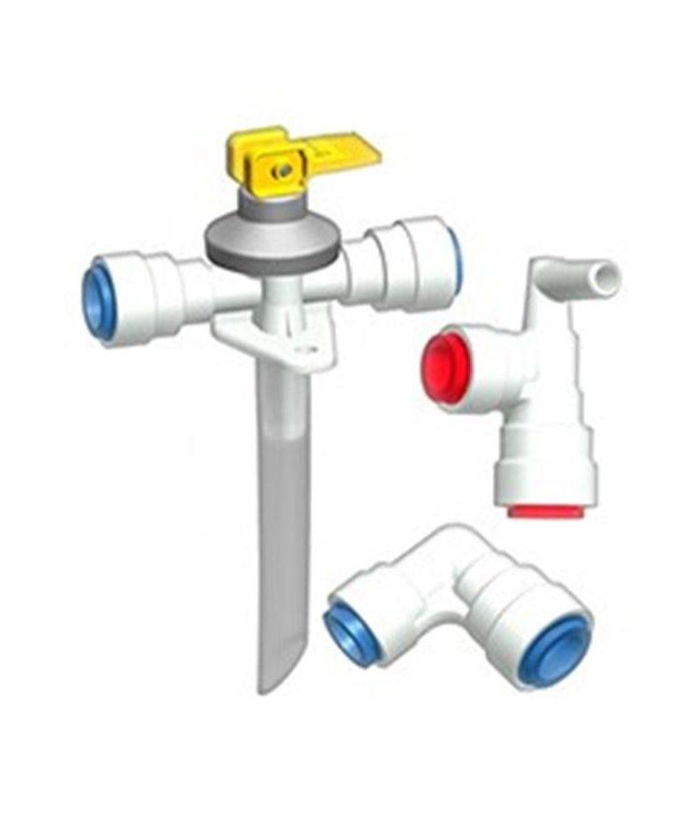 Kit de agua ABO JG John Guest Valvulas seguridad Boiler Truma 70400 01 15941792