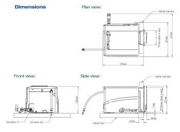 Calentador de agua interior Whale Gas Rapid Heat WHALE 3