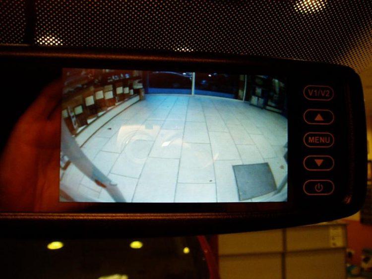 Kit camara monitor espejo VW T5 2