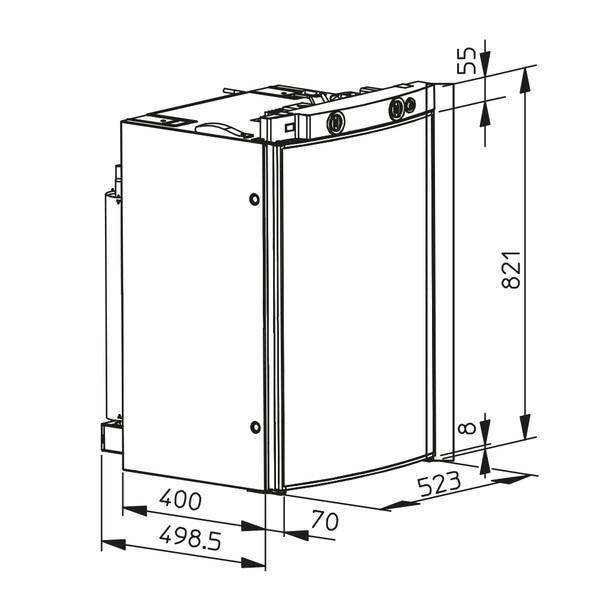 Nevera absorcion Dometic RM 8505 DOMETIC 4