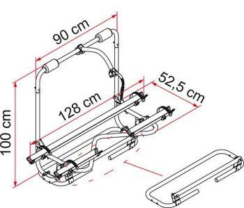 Portabicicletas Caravan XL A Pro FIAMMA 2