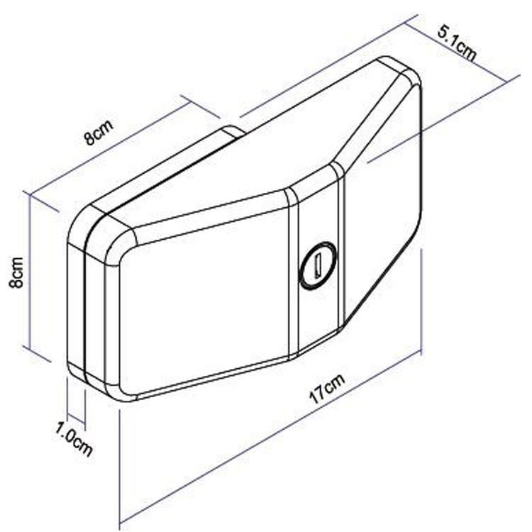 Thule Door Lock Kit 3 uni. THULE 3